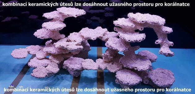 Keramický útes pilíř S speciál vlevo - 2