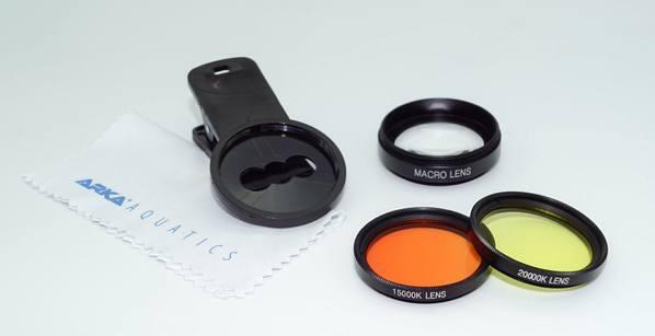 myReef Studio sada filtrů a makro čočka pro mobilní telefony a tablety - 2