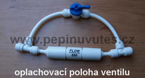 Oplachový ventil membrány pro reverzní osmózu - 2