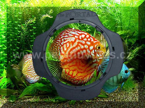 Portal Aquarium Viewer-stěrka na sklo s integrovanou lupou - 2