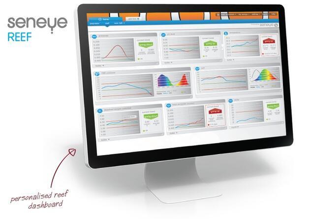 SENEYE REEF - monitorovací systém - 2