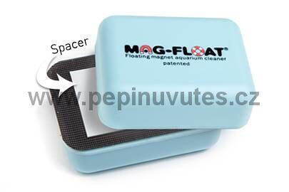Plovoucí magnetická stěrka Mag-float na skla akvária - 2