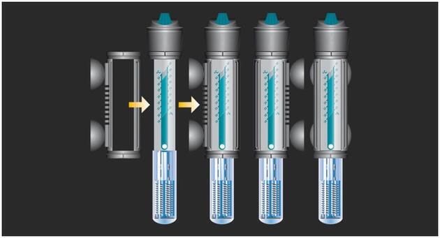 Akvarijní topítko s termostatem VISI-THERM 75 W - 2