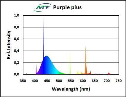 Zářivka T5 - ATI Purple Plus 39W ( 849mm ) - 3