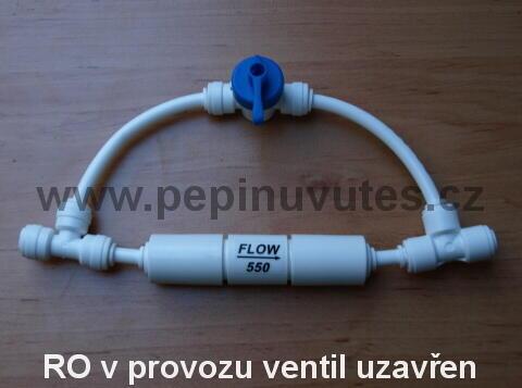Oplachový ventil membrány pro reverzní osmózu - 3