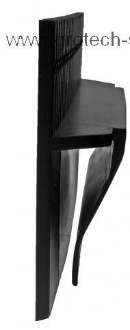 Přepadový hřeben délka 25 cm - 3