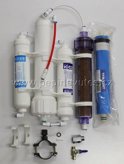 Reverzní osmoza 75 GPD Standart RO/DI filtr - 3