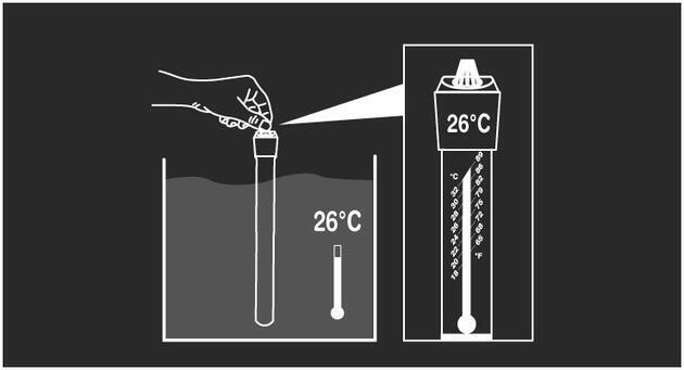Akvarijní topítko s termostatem VISI-THERM 75 W - 3