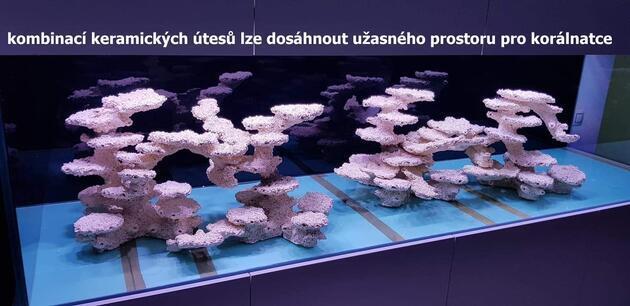 Keramický útes pilíř L speciál vpravo - 6