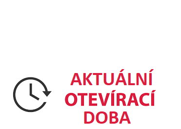 Aktuální otevírací doba od 1.března 2021 do odvolání